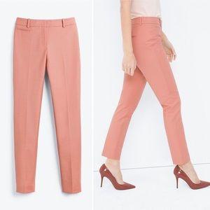 NWOT WHBM Blush Pink Tailored Slim Ankle Pants